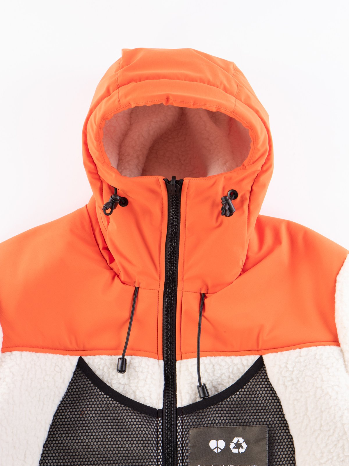 Orange Reversible Hooded Jogger - Image 4
